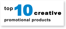 Top ten creative promotional products